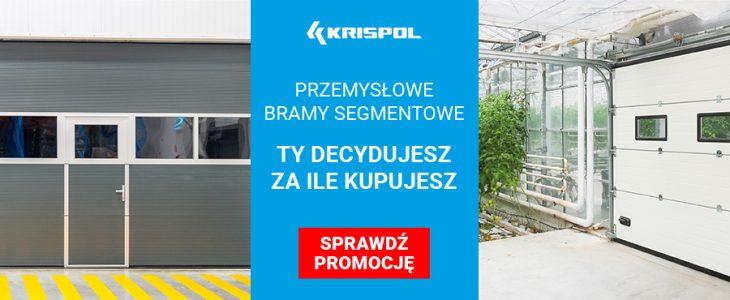 promocja bramy przemyslowe segmentowe